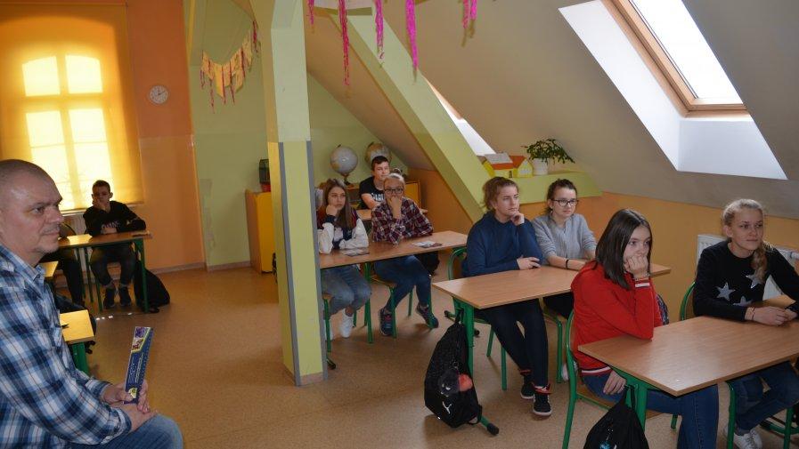 Wizyta przedstawicieli szkół ponadpodstawowych